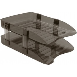 Plastic Desk Stacking Letter Tray